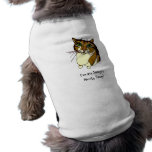 """Jazzy's Norty Step"" Doggy T-Shirt Sleeveless Dog Shirt"