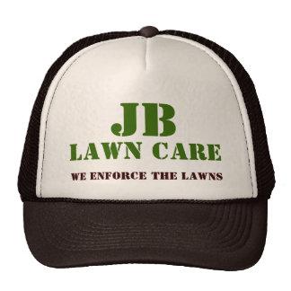 JB, LAWN CARE, We Enforce The Lawns Mesh Hats
