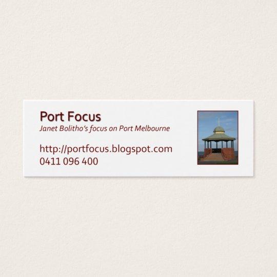 jbProfileRotundaLagoonPier Mini Business Card