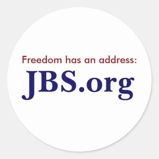 JBS.org Sticker