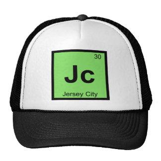 Jc - Jersey City New Jersey Chemistry Symbol Cap