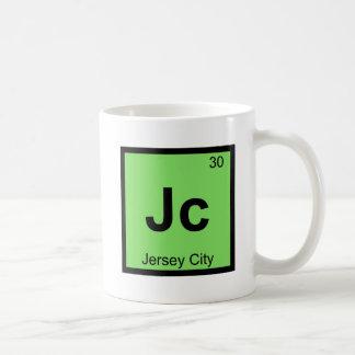 Jc - Jersey City New Jersey Chemistry Symbol Coffee Mug