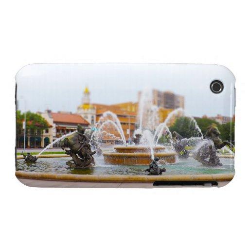 JC Nichols Fountain Country Club Plaza KC iPhone 3 Case