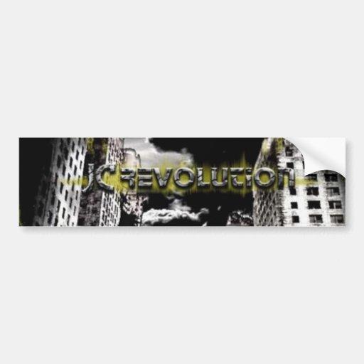JC Revolution Bumper Sticker