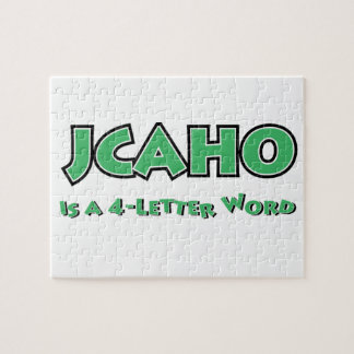 JCAHO is a 4-Letter Word Jigsaw Puzzle