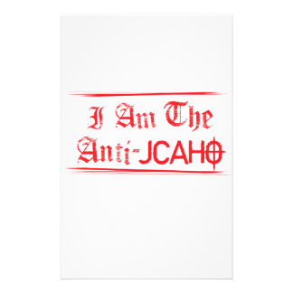 JCAHO is a 4-Letter Word Stationery