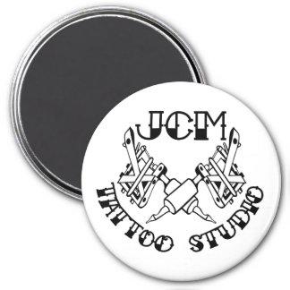 JCM Tattoo Studio Branded magnet