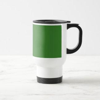 JD Green TEMPLATE Blank DIY add TEXT PHOTO Travel Mug