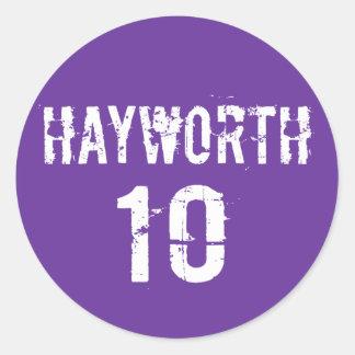 JD Hayworth 2010 Senate Round Sticker