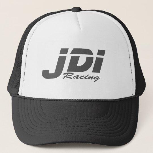 JDI Trucker Hat- Dark Grey Logo Cap