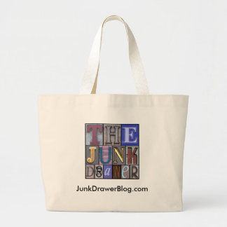 JDLogo, JunkDrawerBlog.com Canvas Bags