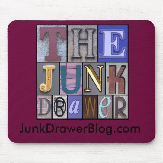 JDLogo, JunkDrawerBlog.com Mouse Mat
