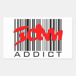 JDM Addict Rectangular Sticker