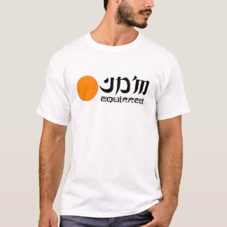 JDM Equipped T Shirt Orange logo