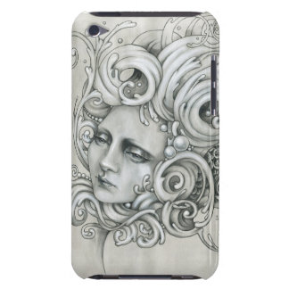 JDM Mermaid Case for iPod Touch (4th generation) Barely There iPod Covers