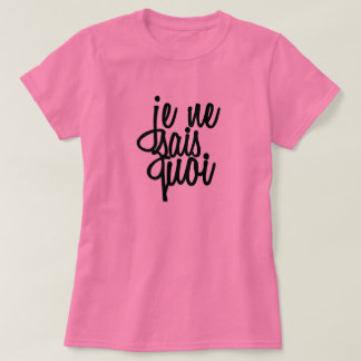 Tops for Women with French Words