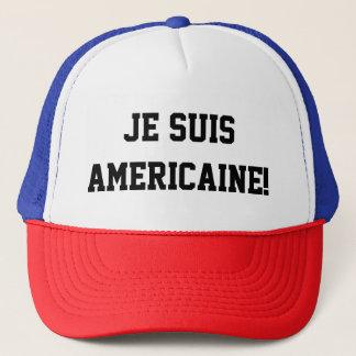 """Je suis Americaine"" hat"