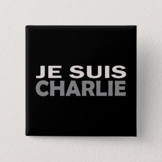 Je Suis Charlie 15 Cm Square Badge