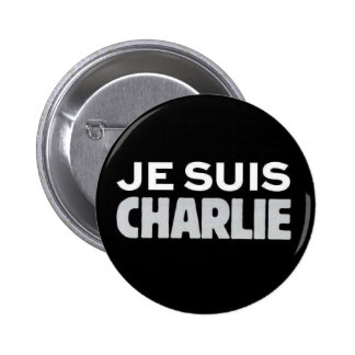 Je Suis Charlie Pinback Buttons