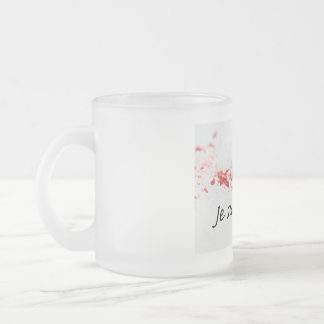 Je Suis Charlie Frosted Glass Coffee Mug