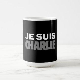Je Suis Charlie - I am Charlie Black Coffee Mug