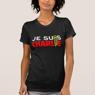Je Suis Charlie (I Am Charlie) Pencil Ladies Shirt