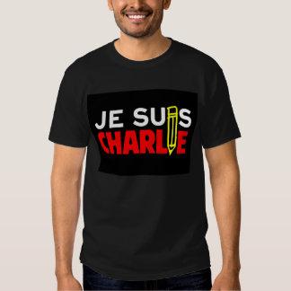 Je Suis Charlie (I am Charlie) Tee Shirts