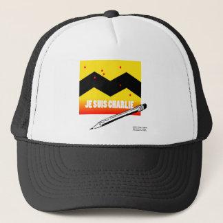 Je Suis Charlie (I Am Charlie) To Benefit Paris Trucker Hat