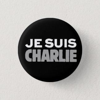 Je Suis Charlie-I am Charlie-Universal Slogan 3 Cm Round Badge