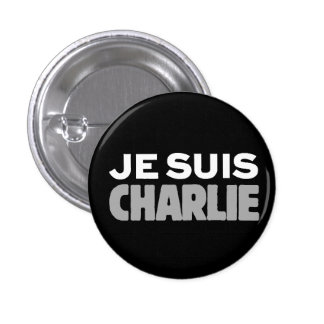 Je Suis Charlie-I am Charlie-Universal Slogan Buttons