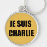 JE SUIS CHARLIE KEY CHAINS