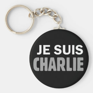 Je Suis Charlie Key Ring