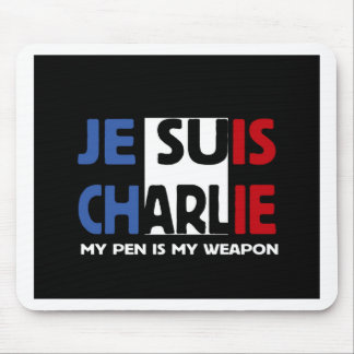 Je Suis Charlie My Pen is my Weapon Mouse Mat