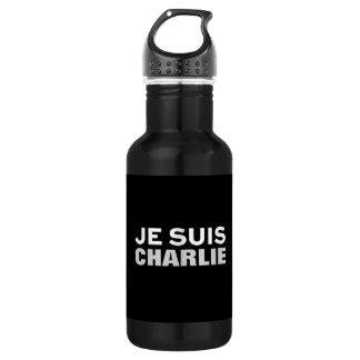 """""""Je suis Charlie"""" PRINT CUSTOM WATER BOTTLE"""