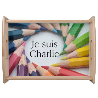 Je Suis Charlie Serving Tray
