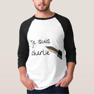 Je Suis Charlie Vintage pen Tee Shirts