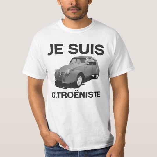 Je suis citroëniste - original gray Citroën 2CV