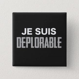 Je Suis Deplorable Button (square)