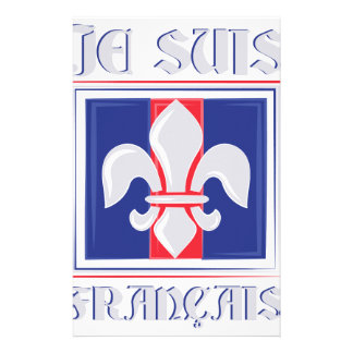 Je Suis Francais Customised Stationery