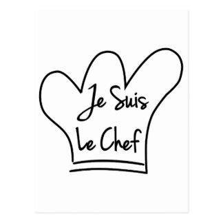 Je Suis Le Chef Postcard
