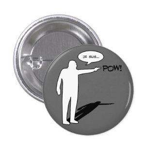 Je suis POW Badge Pins