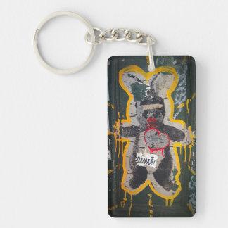 Je T'aime Bunny Keychain