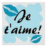 Je t'aime! - French I love you