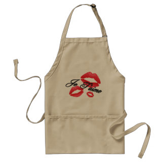 Je T'Aime - I Love You - Gift for Chefs Standard Apron