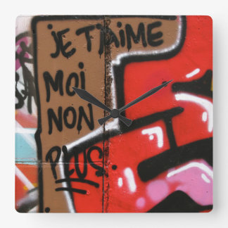 Je t'aime moi non plus - I love you, me neither Wall Clock
