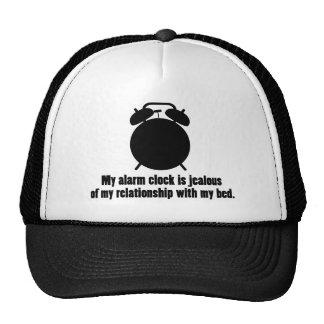 Jealous Alarm Clock Mesh Hats