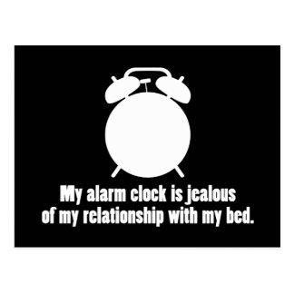Jealous Alarm Clock Post Cards