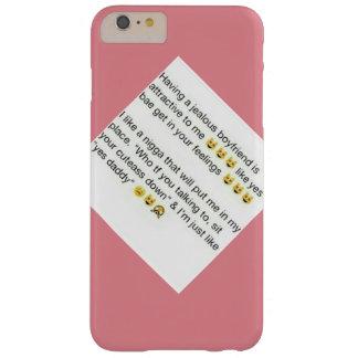 Jealous Boyfriend Barely There iPhone 6 Plus Case