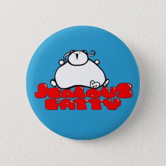 Jealous Fatty 6 Cm Round Badge