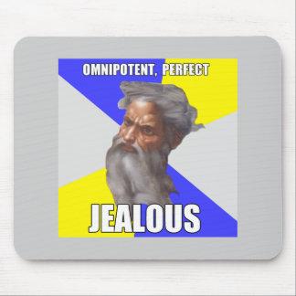 Jealous Troll God Mouse Pad